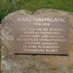 Eröffnung Karl-Nahrgang-Platz