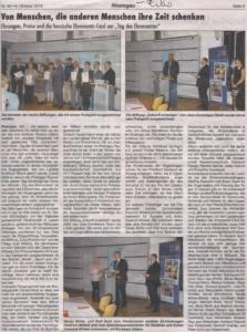 Rheingau Echo - Ehrenamtspreis des Rheingau-Taunus-Kreises 2016