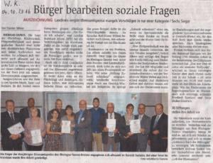 Wiesbadener Kurier - Ehrenamtspreis des Rheingau-Taunus-Kreises 2016